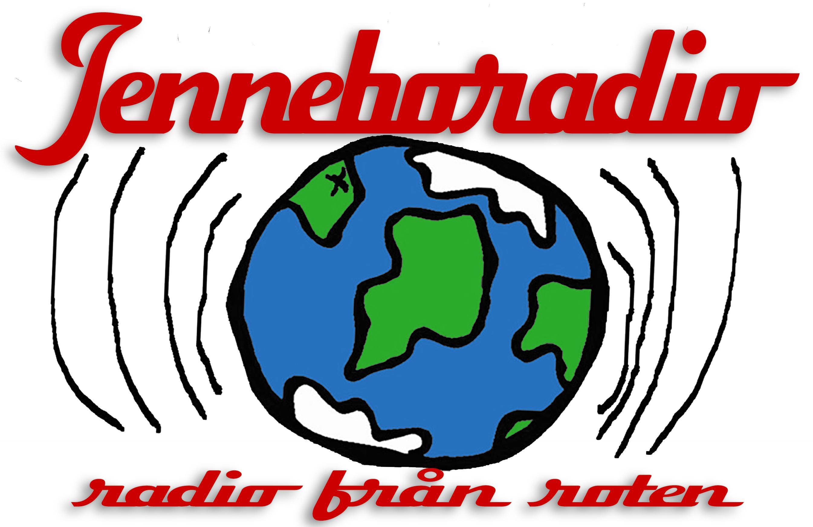 Jenneboradio Radiostationen som sänder från roten